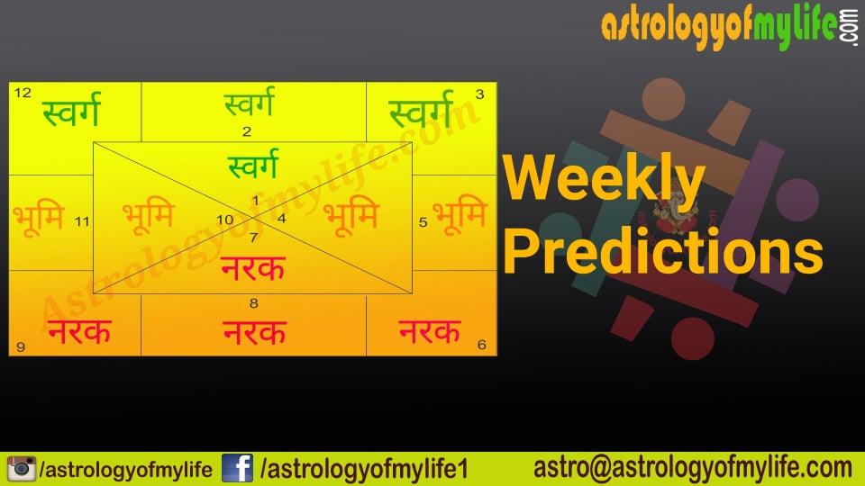 साप्ताहिक राशिफल: इन सात दिनों में बनेंगे ग्रहण और विष योग, 5 राशि वालों को रहना होगा संभलकर