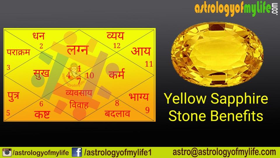 Yellow Sapphire Stone Benefits